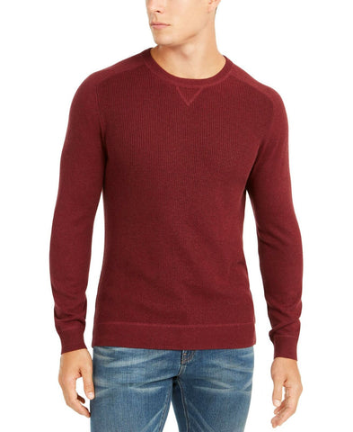 Club Room Men's Pima Cotton Crew Neck Sweater