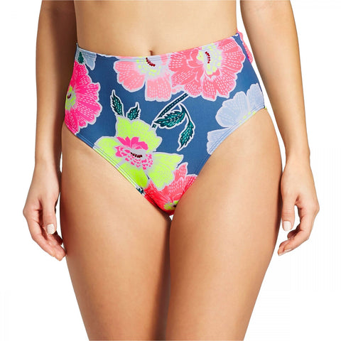 Xhilaration Women's Tie Back High Waist Cheeky Bikini Bottom