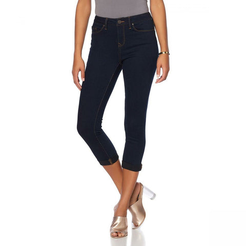 Curations Women's Tall Free Stretch Cropped Skinny Jean