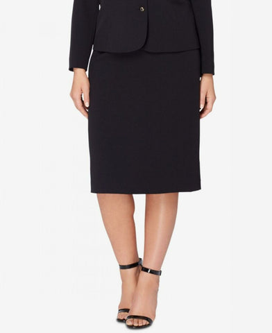 Tahari ASL Women's Plus Size Suit Separates Pencil Skirt. 7160L853 Black 14W