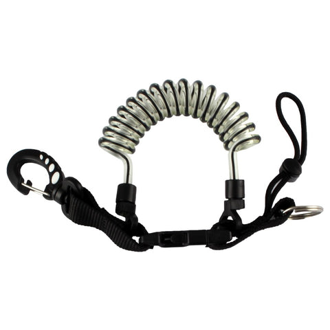 Coiled Lanyard with Quick Release
