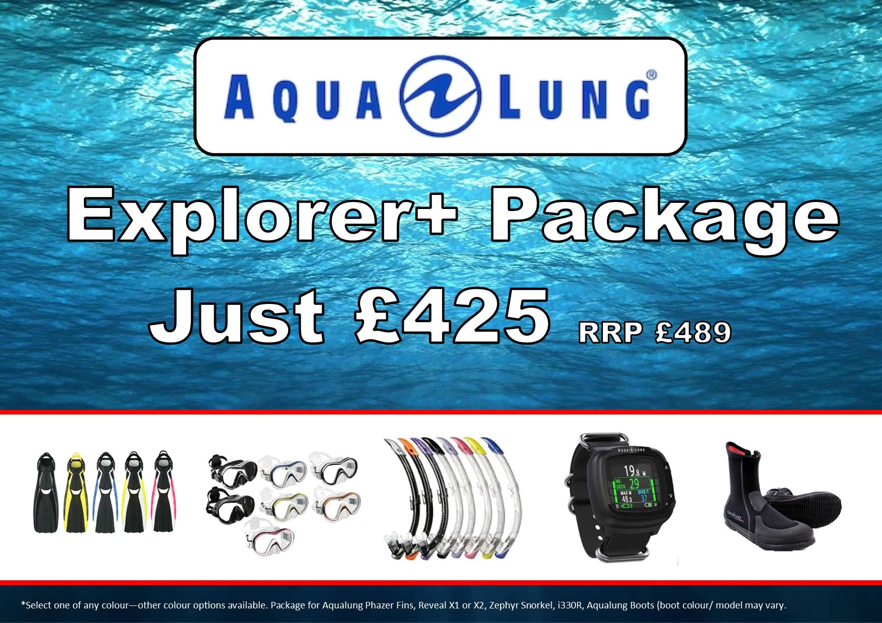 Aqualung Explorer+ Package