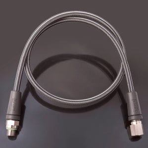 Carbon HD High Pressure Gauge Hose