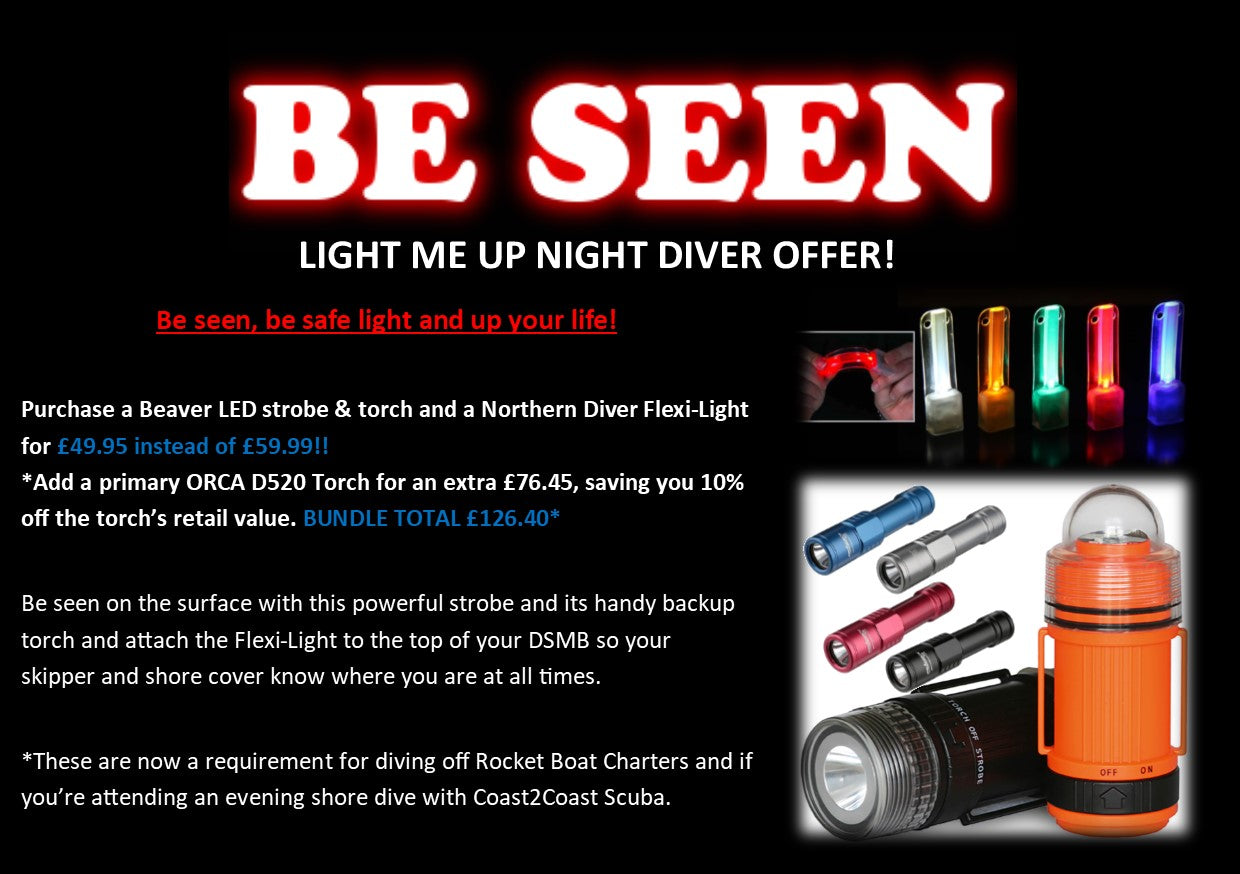 Light Me Up Night Diver Bundle
