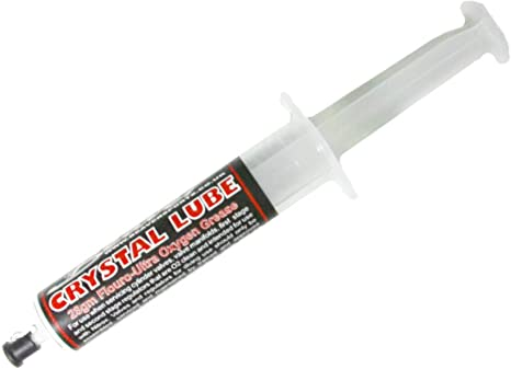 Crystal Lube Syringe Oxygen Grease