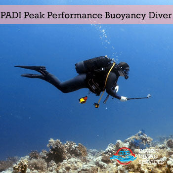 PADI Peak Performance Buoyancy Diver