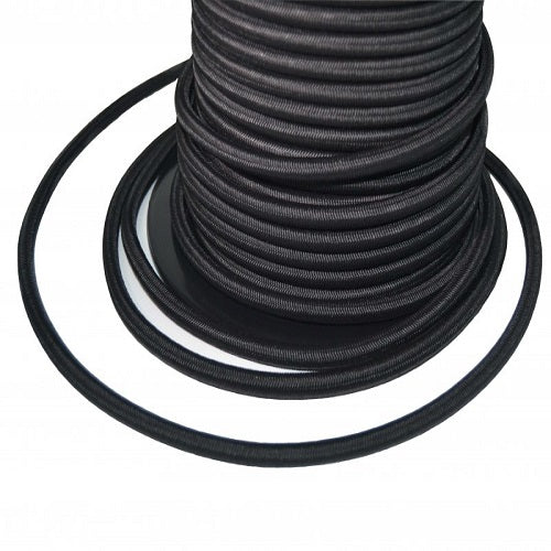 4mm Black Bungee