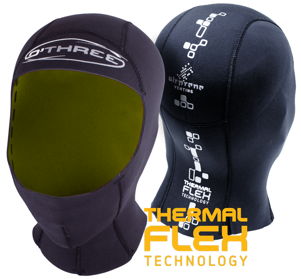 O'Three Thermal Flex Hood 2.5mm