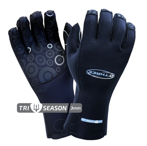 O'Three Tri-Season Gloves 3mm