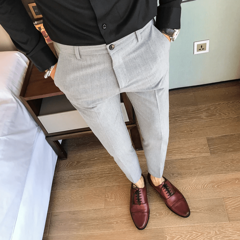Voss Slim Fit Casual Pants