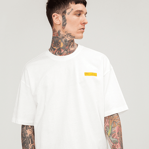 YELLOW LONG RIBBON T-SHIRT - Topmanco