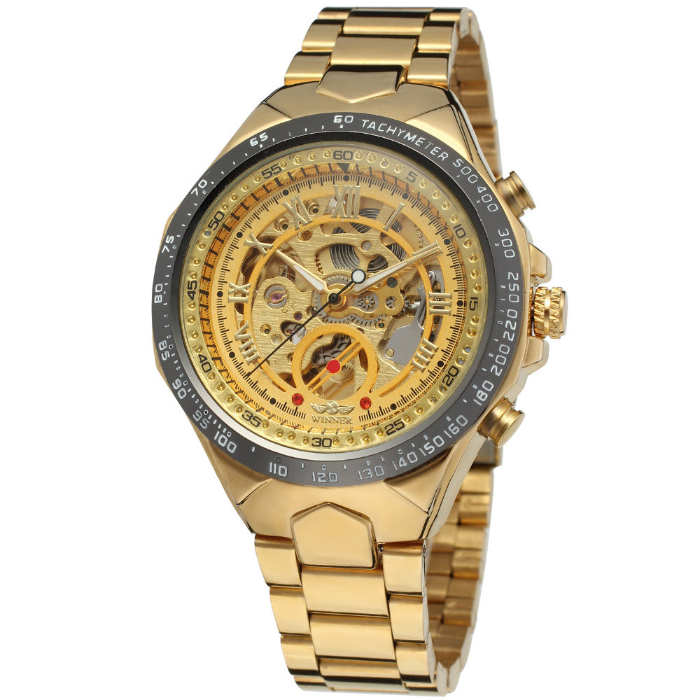MIURO SKELETON WATCH - Topmanco