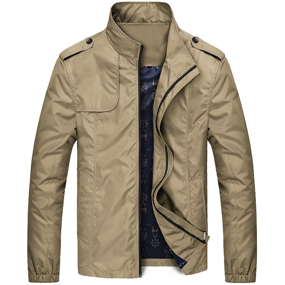 Faux Leather Jacket - Topmanco
