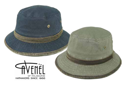Avenel Cotton Small Brim Casual