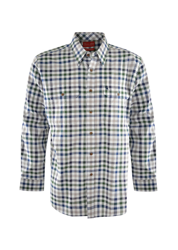 Thomas Cook Henry Check 2-Pkt L/S Shirt