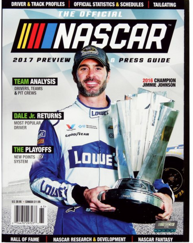 The All New Official NASCAR 2017 Preview & Press Guide