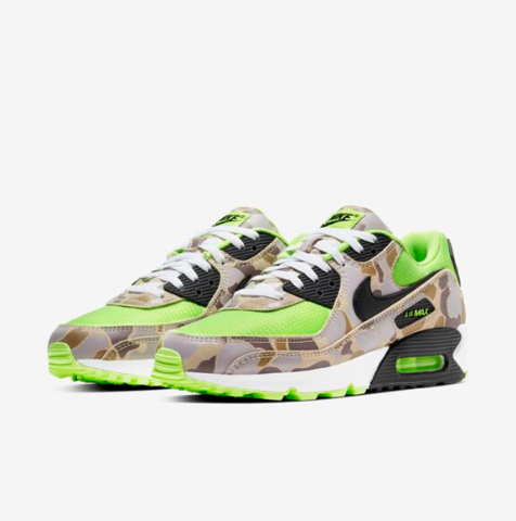 "Nike Air Max 90 ""Green Camo"" disponible en Launches"