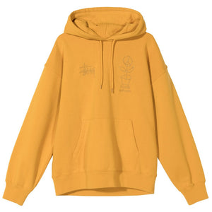 Stussy Care Hood Gold
