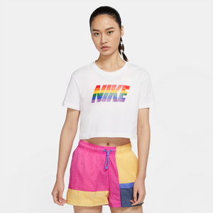 W Nsw Tee Betrue Crop