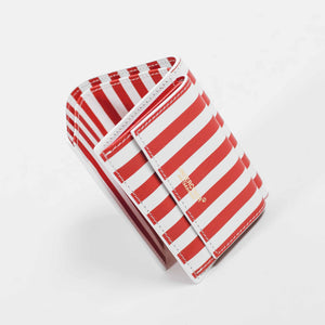 Undercover Mini Wallet Red Stripes