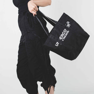 Undercover Black Nylon Tote Bag Small