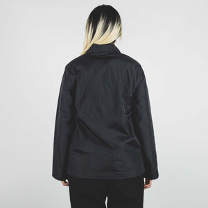 Stussy Light Fill Nylon Sport Jacket Black
