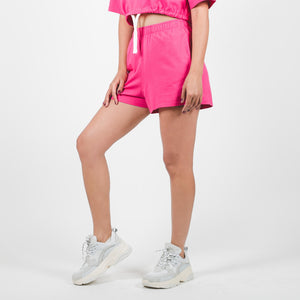 Jersey Apparel Loose Shorts Raspberry