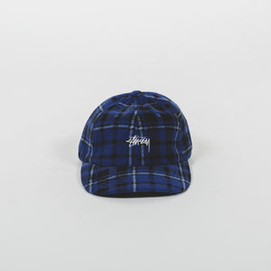 Stussy Stock Polar Fleece Low Pro Cap Blue