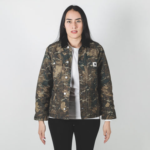 Carhartt W' Michigan Jacket Camo Laurel