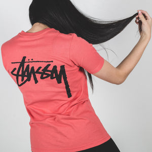 Stussy Stock Tee Red