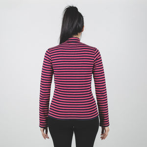 Stussy Toro Stripe Turtleneck Red