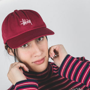 Stussy Stock Low Pro Cap Berry