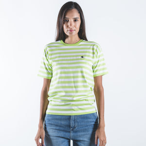 W' S/S Scotty Stripe T-Shirt Lime