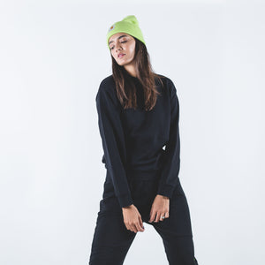 W' Neo Sweat Black/Lime