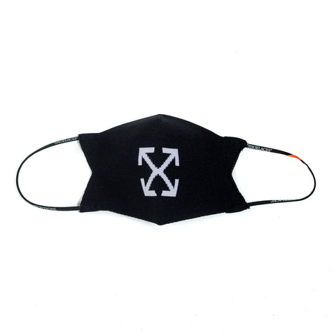 Off-White Arrow Knit Simple Mask Black White