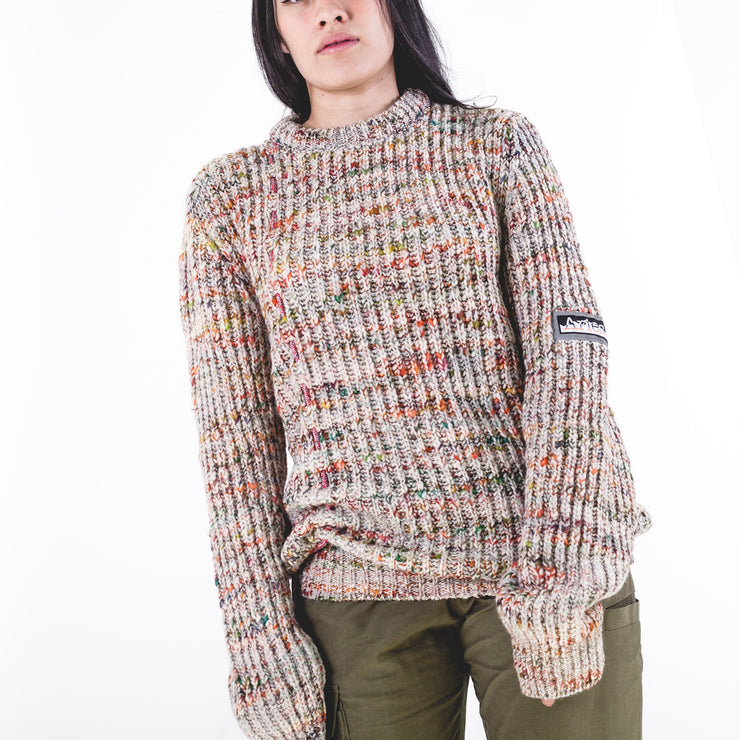 Military Space Dye Jumper Grey