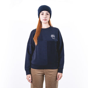 Sweat Pony F Navy Blue