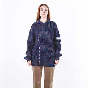 Military Space Dye Jumper Blue