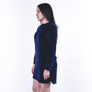 Robe Elena Navy Blue