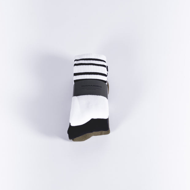 Stripe Jacquard Socks
