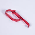 Zip Tie 2 Finger Ring Red