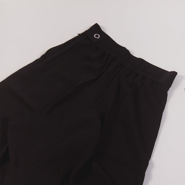 Acne Studios Pancy Flu Twill Black