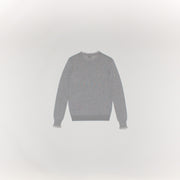 Acne Studios Kaja Merino Light Grey Melange