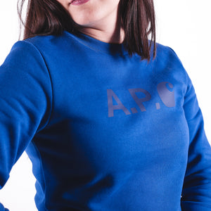 APC x Carhartt Sweatshirt Hoists F Blue
