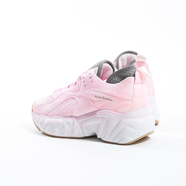 Manhattan Overdyed Sneakers Fluo Pink