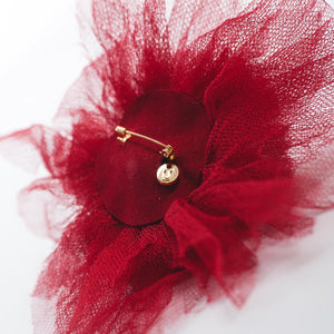 Undercover Red Broach