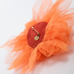 Undercover Orange Broach