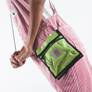 Delta Neck Pouch Lime