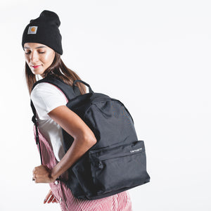 Payton Backpack Black/White