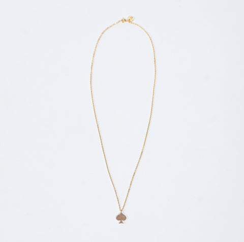 Undercover Gold Necklace With Pokar Pike Charm